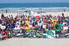 ISA - Clinic Groupshot Athletes