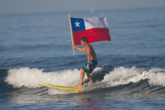 Chile Surfer Flag. PHOTO: ISA / Lockwood