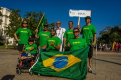 Team Brazil with ISA President Fernando Aguerre. Photo: ISA / Evans