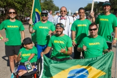 Team Brazil with ISA President Fernando Aguerre. Photo: ISA / Reynolds