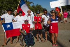 Team Chile with ISA President Fernando Aguerre. Photo: ISA / Reynolds