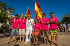 Team Spain with ISA President Fernando Aguerre. Photo: ISA / Evans