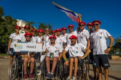 Team France with ISA President Fernando Aguerre. Photo: ISA / Evans