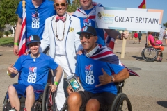 Team Great Britain with ISA President Fernando Aguerre. Photo: ISA / Reynolds
