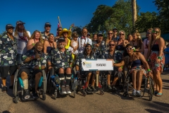 Team Hawaii with ISA President Fernando Aguerre. Photo: ISA / Evans