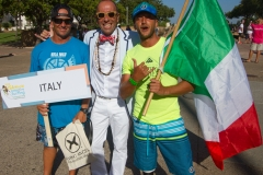 Team Italy with ISA President Fernando Aguerre. Photo: ISA / Reynolds