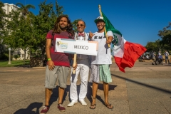 Team Mexico with ISA President Fernando Aguerre. Photo: ISA / Evans