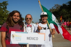 Team Mexico with ISA President Fernando Aguerre. Photo: ISA / Reynolds