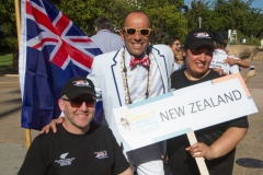 Team New Zealand with ISA President Fernando Aguerre. Photo: ISA / Reynolds