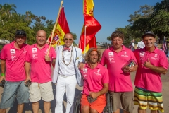 Team Spain with ISA President Fernando Aguerre. Photo: ISA / Reynolds