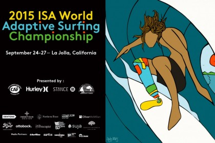 Official promo video for the 2015 ISA World Adaptive Surfing Championship
