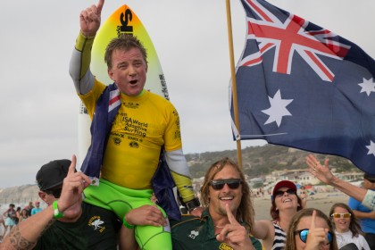WORLD CHAMPIONS CROWNED AT INAUGURAL ISA WORLD ADAPTIVE SURFING CHAMPIONSHIP