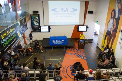 ISA ADAPTIVE SURFING SYMPOSIUM LAYS FOUNDATION FOR LASTING GROWTH AND DEVELOPMENT OF THE SPORT