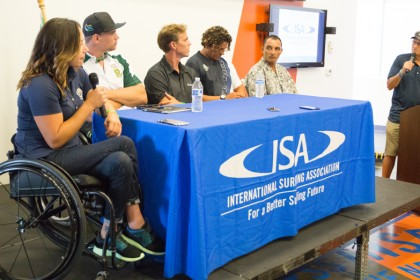 ISA Adaptive Surfing Symposium
