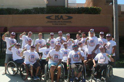 ALL TEAMS ANNOUNCED FOR THE 2015 ISA WORLD ADAPTIVE SURFING CHAMPIONSHIP PRESENTED BY CHALLENGED ATHLETES FOUNDATION, HURLEY, STANCE AND THE CITY OF SAN DIEGO