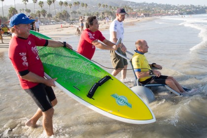 ISA Adaptive Surfing Clinic