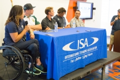 Surfers Panel  Aadaptive Surf Symposium. Photo: ISA