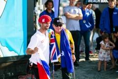 FRA - Eric Dargent & AUS - Mark Stewart. PHOTO: ISA / Chris Grant