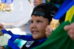BRA - Davi Teixeira Winner  of the Gold Medal in AS5 Assist. PHOTO: ISA / Chris Grant
