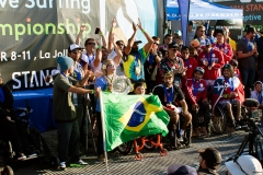 Gold Medalists Team Brazil. PHOTO: ISA / Chris Grant