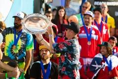 Team Brazil Winner of the Gold Medal. PHOTO: ISA / Chris Grant