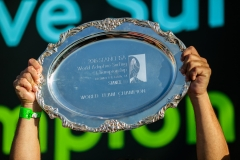 Trophy. PHOTO: ISA / Chris Grant