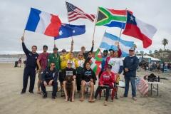 Blind Competitors. PHOTO: ISA / Evans