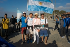 Team Argentina with ISA President Fernando Aguerre. PHOTO: ISA / Evans