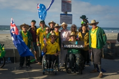 Team Australia with ISA President Fernando Aguerre. PHOTO: ISA / Evans