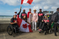 Team Canada with ISA President Fernando Aguerre. PHOTO: ISA / Evans