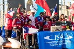 Team Chile. PHOTO: ISA / Chris Grant
