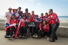 Team Chile with ISA President Fernando Aguerre. PHOTO: ISA / Evans