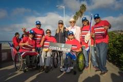 Team Costa Rica with ISA President Fernando Aguerre. PHOTO: ISA / Evans