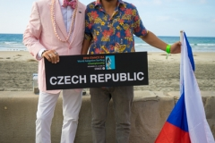 Team Czech Republic with ISA President Fernando Aguerre. PHOTO: ISA / Evans