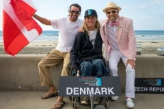 Team Denmark with ISA President Fernando Aguerre. PHOTO: ISA / Evans