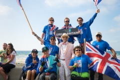 Team Great Britain with ISA President Fernando Aguerre. PHOTO: ISA / Evans