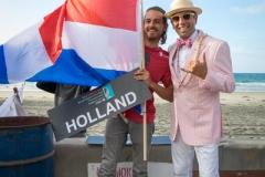 Team Holland with ISA President Fernando Aguerre. PHOTO: ISA / Evans