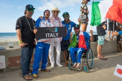 Team Italy with ISA President Fernando Aguerre. PHOTO: ISA / Evans