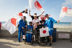Team Japan with ISA President Fernando Aguerre. PHOTO: ISA / Evans