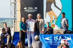 City Council Member Lori Zapf, ISA President Fernando Aguerre and San Diego Council President Sheri Lightner. PHOTO: ISA / Chris Grant