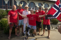 Team Norway with ISA President Fernando Aguerre. PHOTO: ISA / Evans