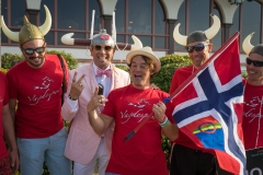 Team Norway with ISA President Fernando Aguerre. PHOTO: ISA / Evans