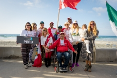 Team Peru with ISA President Fernando Aguerre. PHOTO: ISA / Evans
