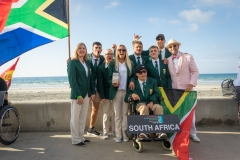 Team South Africa with ISA President Fernando Aguerre. PHOTO: ISA / Evans