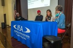Cara Short, Jesse Billauer, Nancy Reynolds. PHOTO: ISA / Evans