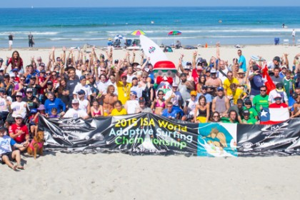 2015 ISA World Adaptive Surfing Championship presented by Hurley, CAF & The City of San Diego