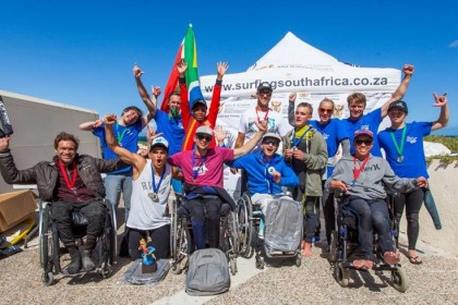 Stance ISA World Adaptive Surfing Championship 2016 Fomenta el Desarrollo Global del Surf Adaptado