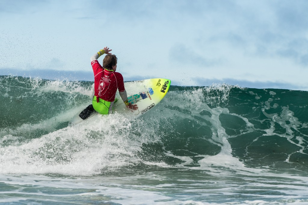 Mark 'Mono' Stewart cruises to victory, his second consecutive Gold Medal. Photo: ISA / Chris Grant