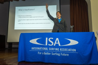 Todo Listo para Empezar el Stance ISA World Adaptive Surfing Championship 2016 con la Clínica y la Ceremonia de Apertura