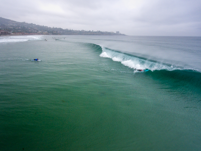 La Jolla Shores gave the athletes plenty to be excited about with excellent morning conditions. Photo: ISA / Sean Evans